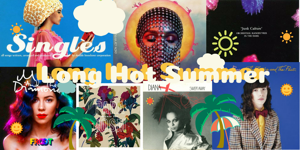 Playlist Time: Long Hot Summer